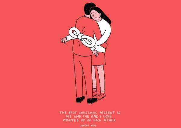 喊肚子餓就送上「熱騰騰三明治」?10張媲美情書大全的肉麻插畫,教你用最平凡的幸福閃瞎單身狗!