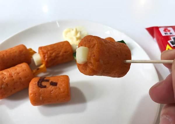 【日本推出這兩款好玩的零食--烏龍麵軟糖跟咔辣姆久竹輪 ! 】 不僅讓零食變得好看又徹底顛覆了既定的口感呢 !