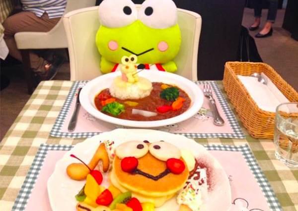 【日本大眼蛙期間限定咖啡廳開幕 ! 】喜歡這隻蛙的朋友們! 預備備衝了喔 ~ !