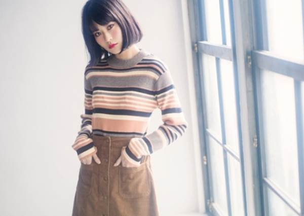 露肉的季節靠它最顯瘦!A字裙6種穿搭術分享,秘訣:搭長板開襟衫還有提拉身型的效果?