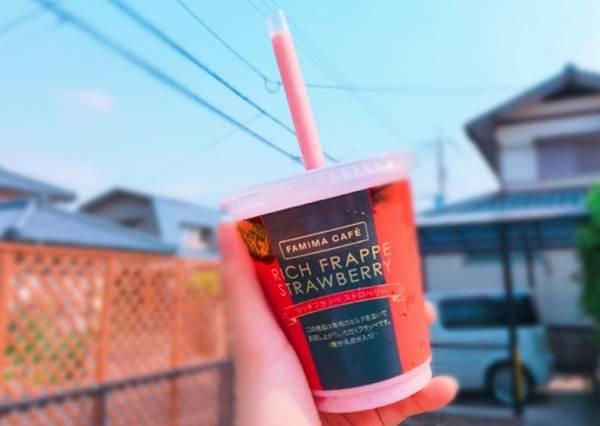 比OREO冰沙還要好喝!日本全家推「草莓&薄荷巧克力」新口味,就算喝到肥死也甘願