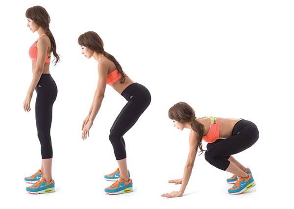 放縱大吃或臨時得穿上緊身衣服怎麼辦? 這兩個動作做10次,讓妳的曲線看起來超S!