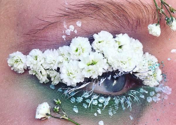 這才叫真。乾燥玫瑰妝!部落客超美花朵眼妝,尤其暈染漸層的最適合跑趴?