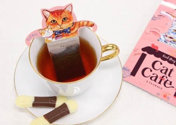 貓奴會不小心就看到發呆!療癒度爆表的「貓咪泡湯茶包」,絕對是下一個爆紅Item!