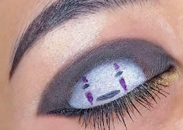 你知道「白龍眼影」是這樣畫的嗎?美妝達人用眼妝詮釋《神隱少女》,湯婆婆的也太貴氣!