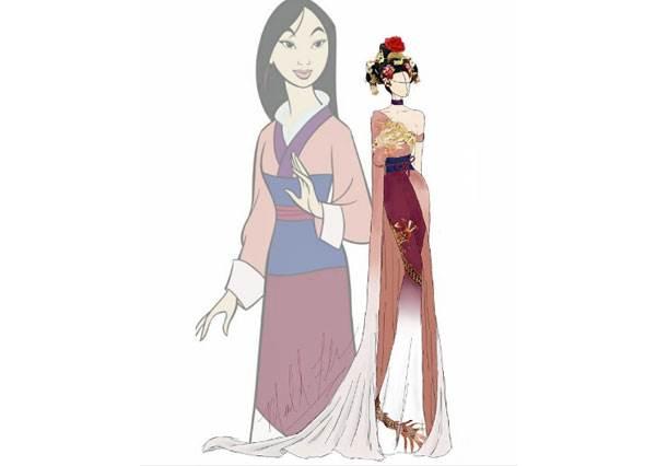 迪士尼公主時裝秀每一套都美得不要不要的,尤其是最後一套簡直美翻天!