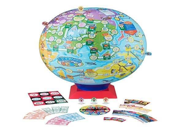 迴轉壽司用摩天輪出餐?!2017日本玩具大賞,球體大富翁讓你在家就能環遊世界一圈!