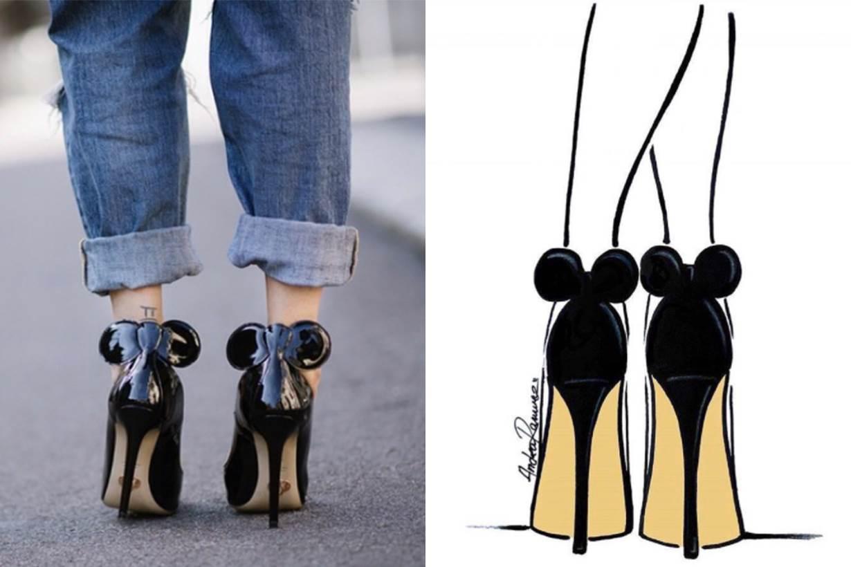 光放在鞋櫃都覺得開心!米妮耳朵變身童趣高跟鞋,讓你每踏一步都成為焦點