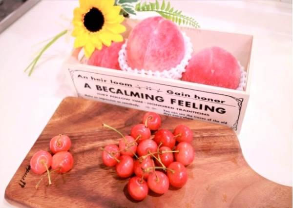 超夢幻組合!當日本第一水蜜桃遇上冠軍櫻桃,來自製一杯水果凍飲融化這個夏天吧!