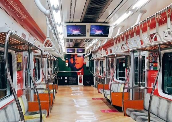 GD列車車廂登上首爾地鐵!為期一個月限時搶搭