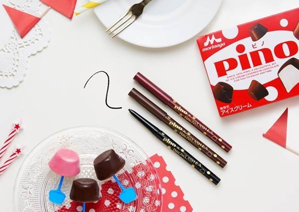 餅乾變成護唇膏、巧克力變成眼線筆?日本「甜點彩妝」讓你化妝前後都能甜滋滋