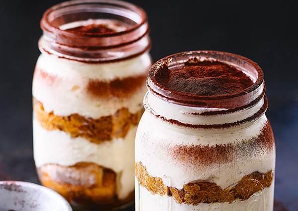 咖啡廳甜點在家也能做!簡單3步驟,「杏仁提拉米蘇」輕鬆get