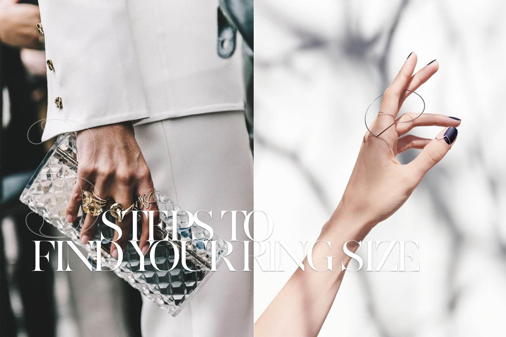 戒指也有分Size? 簡單3步驟,讓你找到自己的命定戒指尺寸!