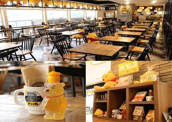 小熊維尼40歲啦!日本期間限定CAFÉ好吃又好買,快來體驗被維尼淹沒的感覺吧