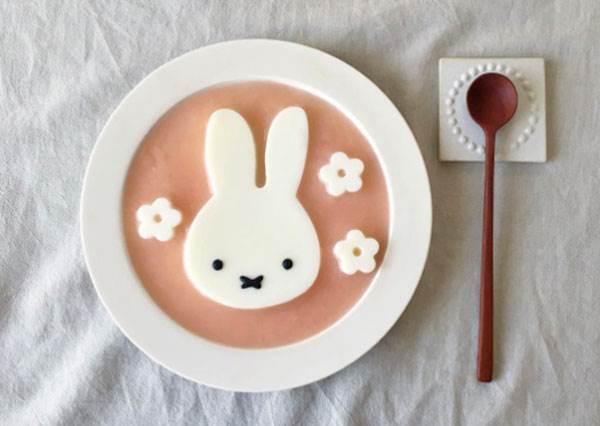 這真的不是官方聯名餐廳嗎?超猛Miffy鐵粉的餐桌食記,要我每天吃這蛋包飯也願意啊!