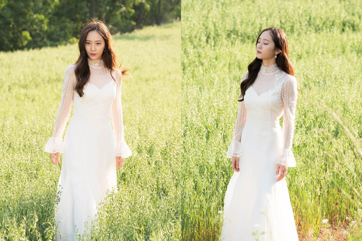 最美韓劇女二就是她!「河伯的新娘」Krystal女神氣場全開,憑的就是這些妝髮的心思!