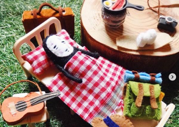 原來最懂享受的竟是無臉男啊!宮崎駿羊毛氈的生活日記,連白龍最浪漫這一刻都能完美呈現