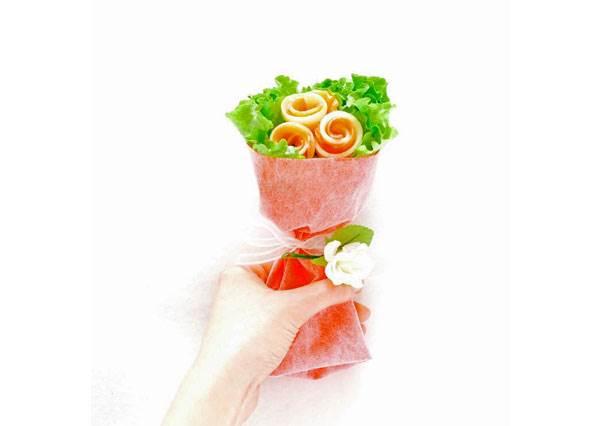 愛你就是希望你健康的陪伴我每一天♥超可愛蔬菜料理花束,就算討厭吃菜也會為了它改變啊