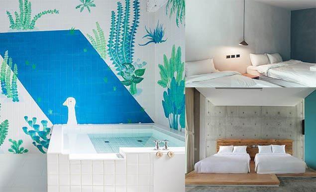 來趟2天1夜的小旅行吧!宜蘭文青風民宿4選:這間澡堂超適合揪姊妹一起去沖涼啊!