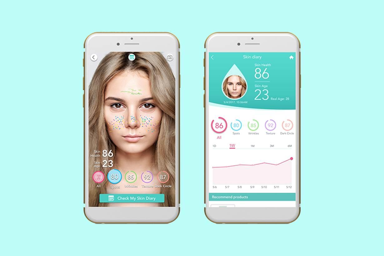 保養品到底有沒有效?這個APP除了幫你化妝,還能天天幫你記錄皮膚變化?!