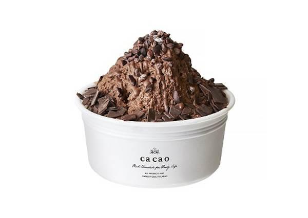 來自哥倫比亞稀少可可豆做成!除了NO1.排隊商品「生巧克力塔」,夏日限定款可可刨冰跟水果塔,光看就流口水啦!