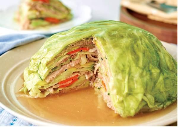 餐廳級料理So Easy!5步驟完成「千層蔬菜肉片包」,連小朋友的腸胃健康都能一起顧到!
