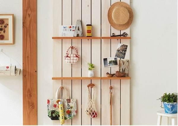 小套房救星來惹!4種風格不同的日式牆面收納架,「薄薄一片」不只不占空間還能讓居家佈置感UP UP!