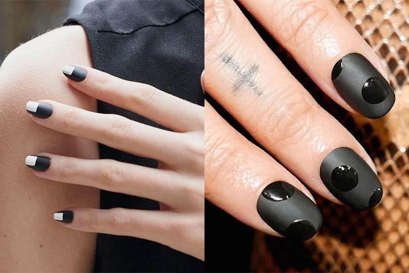 不再是萬聖節專用色!5個實用小技巧讓黑色指甲油也能變得時尚又美麗!