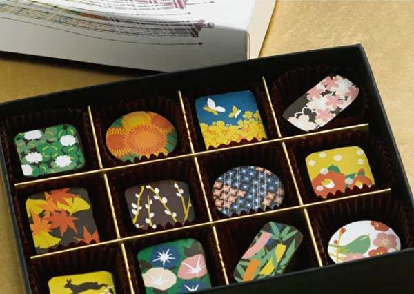 從口味到外觀都是滿滿日本風!日本推特瘋傳的和洋融合巧克力,還有「萬聖節限定款」完全萌退鬼怪啊!