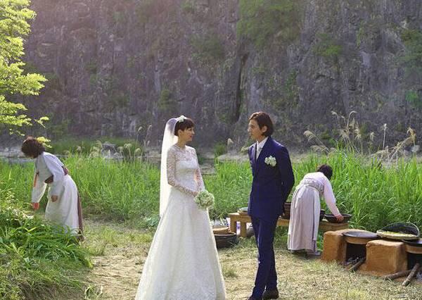 元彬和李娜英秘婚照!為什麼要這麼低調?