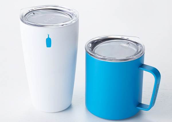 去日本必買的藍瓶咖啡推出保溫杯!以紙杯為概念加上藍色LOGO,這絕對也要收藏的!