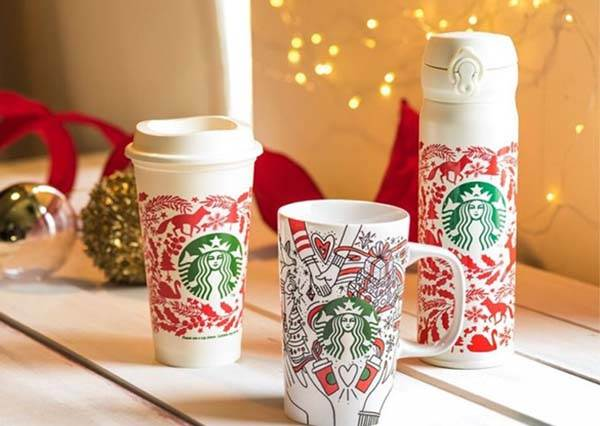 每年買還是不嫌多!星巴克推出超萌狐狸、大象馬克杯等耶誕系列商品,還有限定居家展