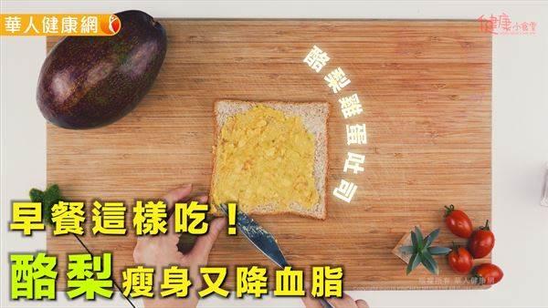 金氏世界紀錄最營養的水果!簡易酪梨早餐教學,方便美味還能瘦!