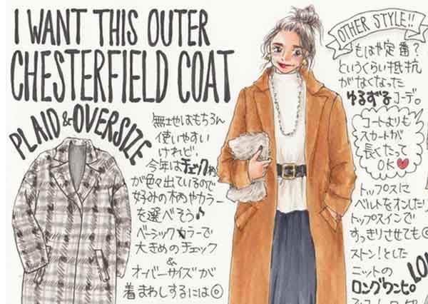 今年秋冬就靠這件長大衣度過!輕鬆駕馭復古元素的穿搭2大法則,一秒變身超正櫻花妹!