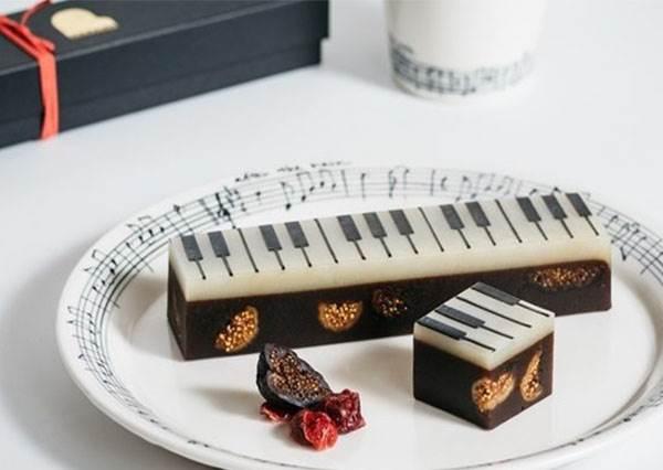 不用會彈琴只要吃就好!美到捨不得拆包裝的「鋼琴主題」伴手禮TOP5,好吃到讓你飆高音~♪