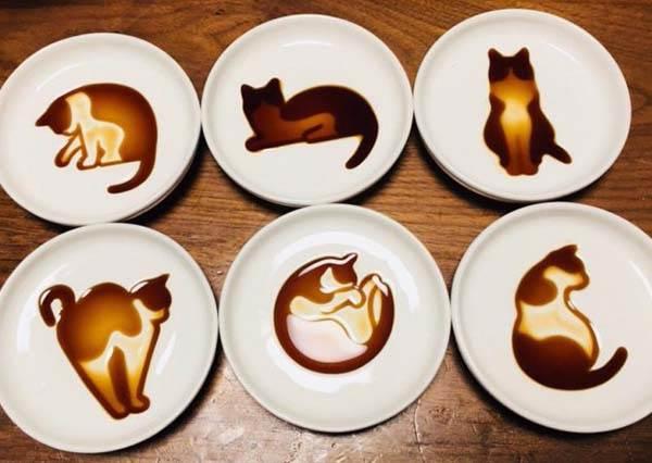 就把喵喵養在餐桌上吧!櫻花妹瘋傳「貓咪醬油碟」賣到缺貨,吃起來有種味道叫可愛啊!