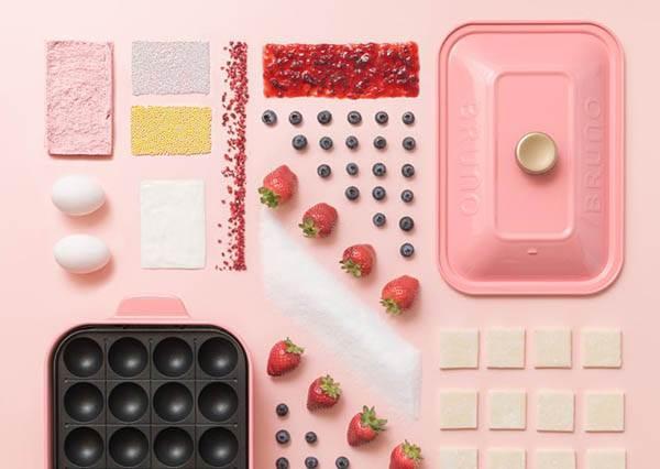 做菜也要滿足少女心♡日本必買「電烤盤」推出限定4色,甜食鹹食一次幫妳搞定!
