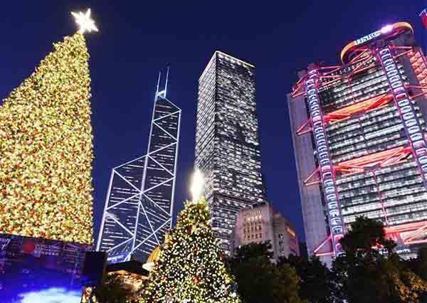 叮叮噹~過聖誕不一定要去歐洲!這些國家都充滿聖誕氣息,東京汐留燈海可是聖誕限定喔!