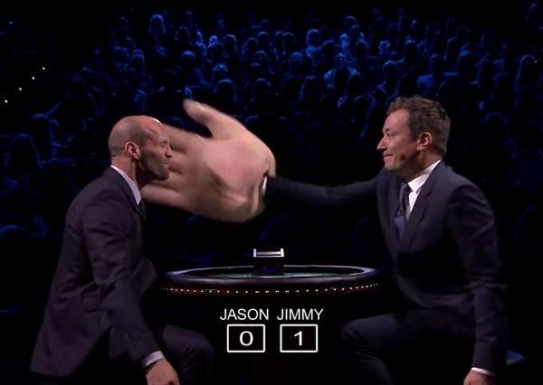 影音/傑森史塔森被打巴掌了!