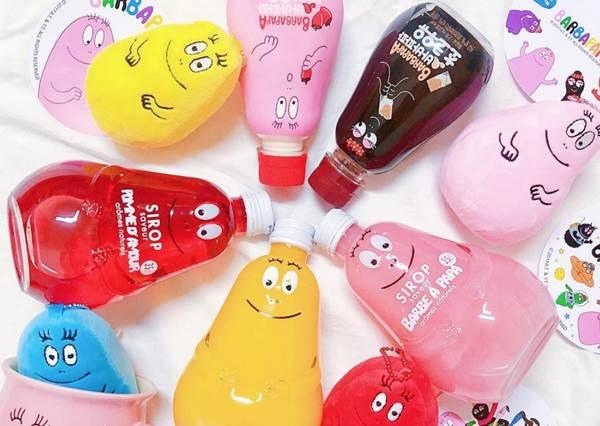 泡泡先生這一組不全包對不起少女心?療癒系超Q卡通聯名罐裝飲料,光看包裝就融化一半了啊!
