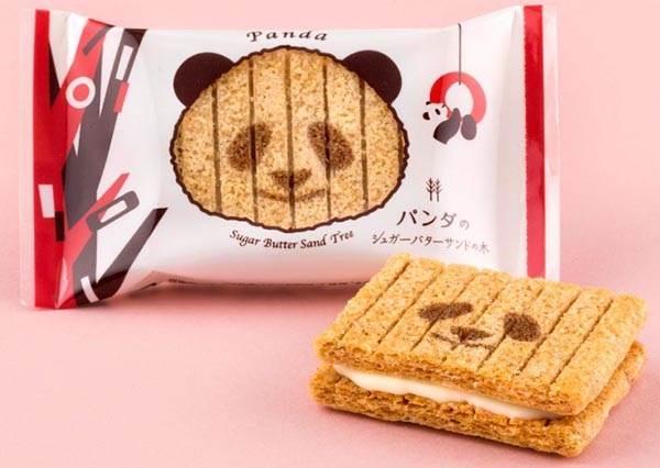 全日本的新寵兒♡貓熊寶寶「香香」聯名餅乾超萌發售ing,跪求推出更多週邊啊!
