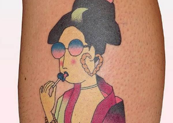 兇猛的老虎一到他手上就多了份可愛?法國藝術家日式浮世繪刺青,這麼少女的廚房妳看過嗎!
