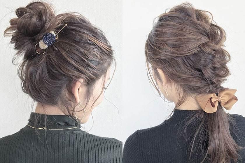 美到男友都叫妳別轉頭!追蹤這個日本女生學日系編髮,就算冬天冷吱吱沒洗頭也能美美出門