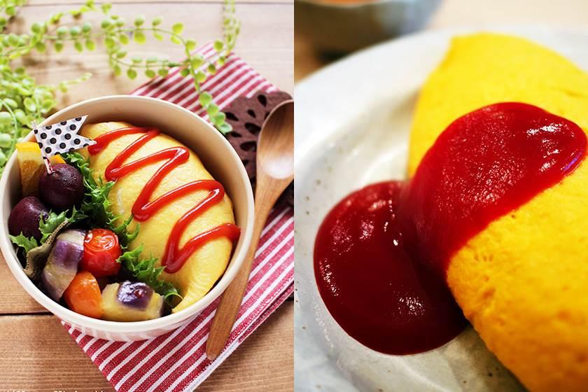 不只好吃連型也能煎得漂亮!正宗日式蛋包飯2分鐘上桌,別把飯炒太乾你就成功一半啦~