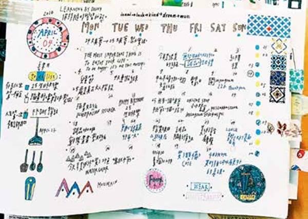 為什麼我的筆記本只有螞蟻字在爬?4招「紙膠帶裝飾術」用幾捲紙膠帶就能讓空白筆記本華麗變身!