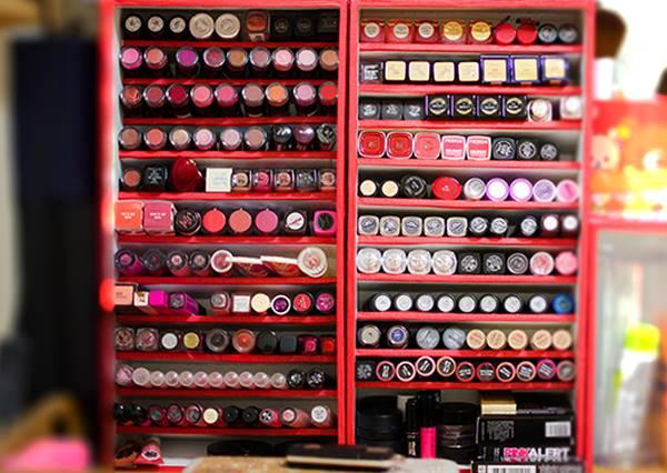 【DIY唇膏收納展示台】幫你的唇膏找個家吧!