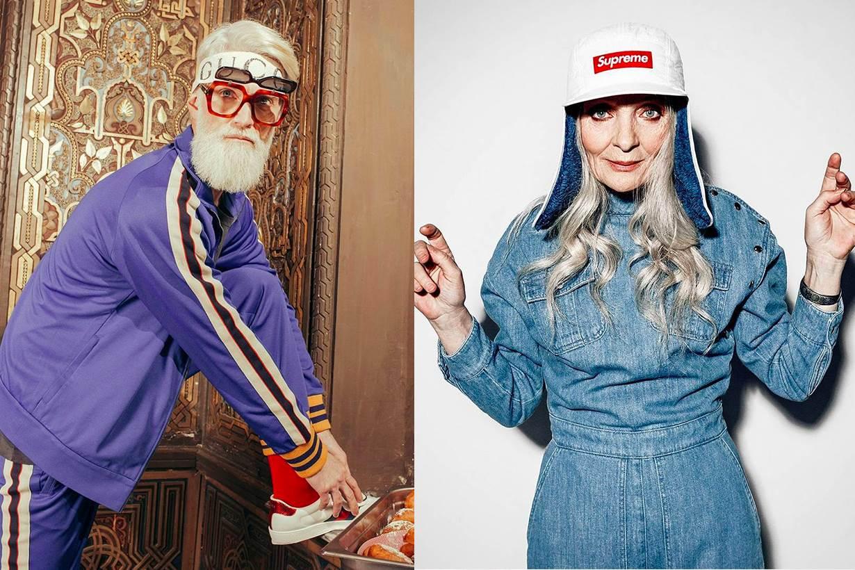 讓爺爺奶奶告訴你什麼是時尚!這間模特兒公司不請年輕潮模,旗下的的Model全部都超過40歲!