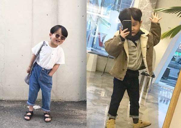 光這POSE肢障的姐姐我就追不上了呀!超可愛韓國迷你型男穿搭日記,一秒扮醜神技根本撩妹高手!