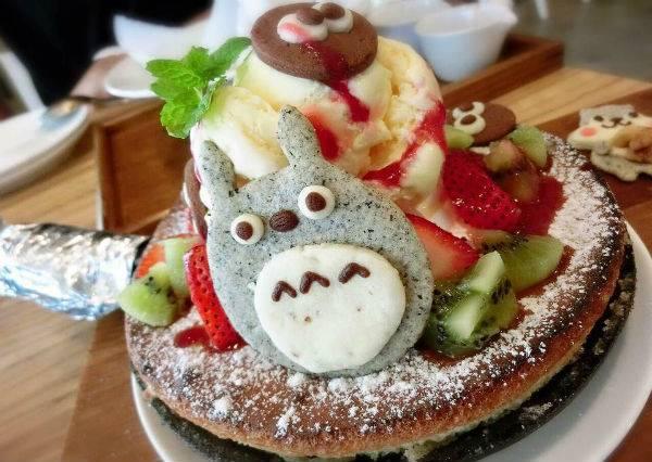 根本捨不得吃!龍貓蛋糕、馬卡龍超級卡哇伊