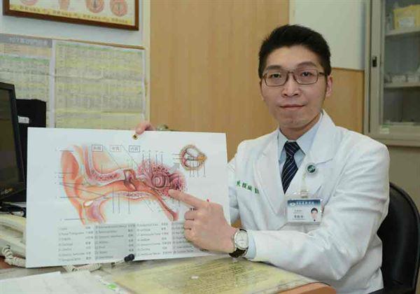 黃韻誠醫師(如圖)建議,暈車藥及頭暈貼片,至少提早1小時服用。(圖片/台北慈濟醫院提供)